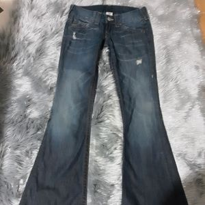 True religion bellbottom flare Jean's size 27 NWOT